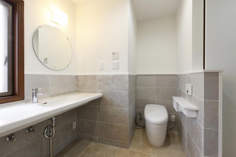 浴室・トイレ・洗面所をホテルのアメニティルームのように開放的に