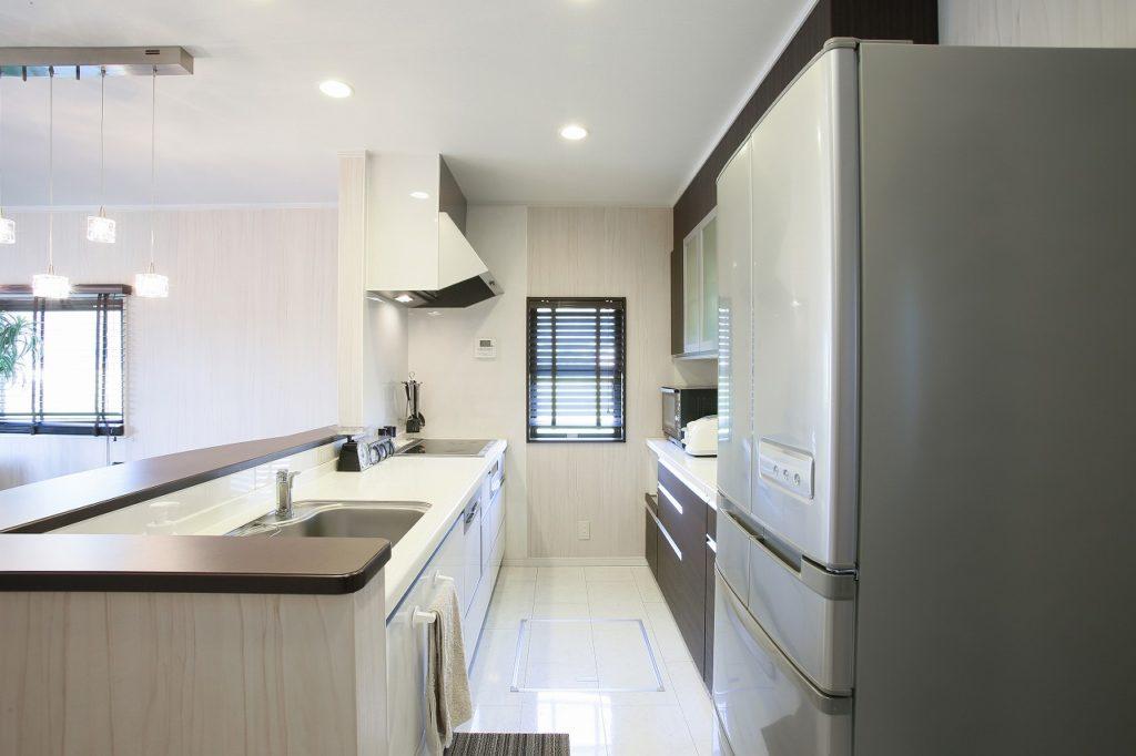 実は、キッチンで最も優先したいのが、作業キッチンの選び方の画像
