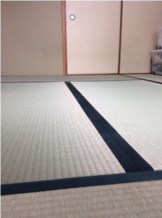 畳の新調によって カビ臭さが改善!