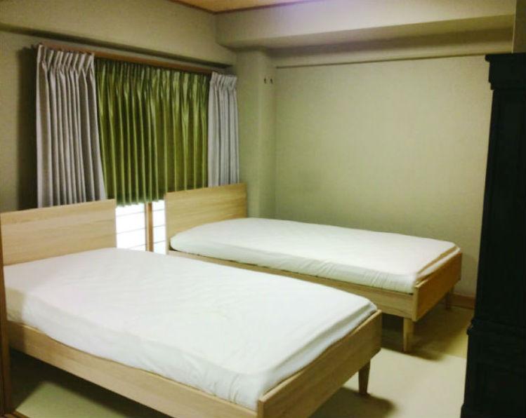和室にベッド『和洋MIX モダンスタイル』