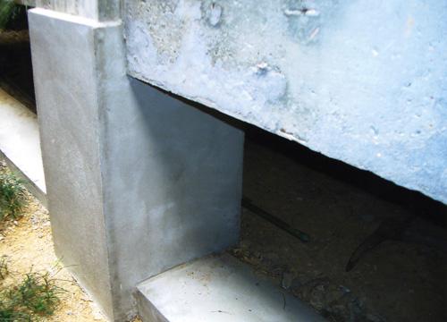 基礎部分の耐震補強工事で安心して住める家になりました