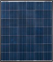 太陽電池と呼ばれるパネルに太陽の光が当たる事で直流の電気が発生します。