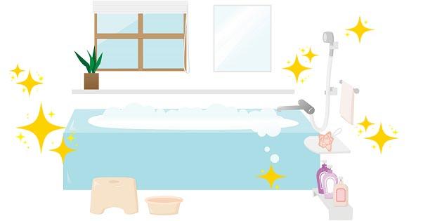 ちょっとずつ大掃除(5)お風呂の黒ずみやヌルヌルもすっきり編