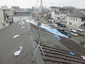 台風被害(21号)