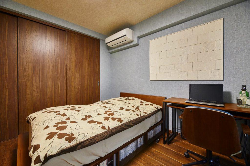 洋室には調湿性のあるエコカラットを採用>