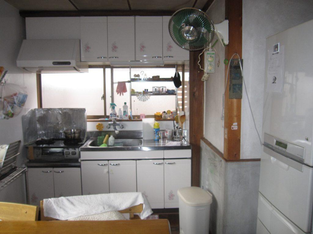 広々使えるキッチンにしたい>